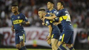 Con un tremendo 2 a 1, Boca se hizo con el Superclásico