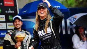 Nadia Cutro, primera mujer campeona del Rally Argentino