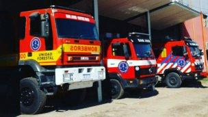 Los bomberos voluntarios, en estado de alerta y movilización