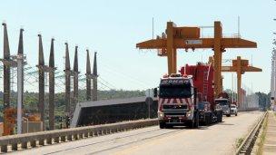 Reprogramaron los cortes de tránsito en el Puente Salto Grande