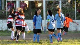 Costa del Uruguay festejó el Play Off de la Liga Femenina