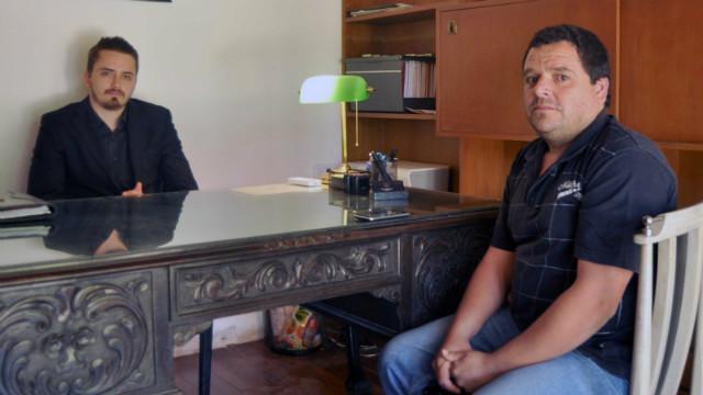 Iñiguez, acompañado por su abogado (Foto: RC-EER).