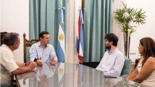 Bahl intervino en disputa entre Varisco y vecinos de Paraná