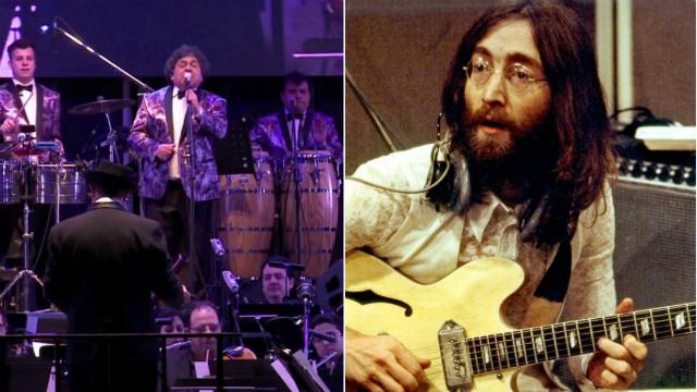 Juntaron a John Lennon y Los Palmeras en un increíble remix
