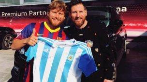 El saludo de Messi a una ciudad entrerriana