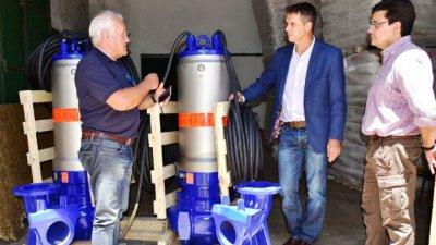 Nuevas bombas de captación para la planta potabilizadora