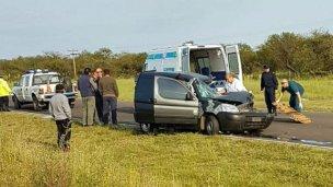 La ruta 18 fue escenario de un nuevo accidente