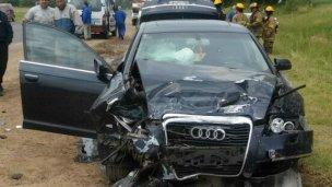 Fatalidad sobre la Ruta 135 para un sanjosesino