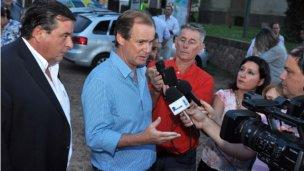 En su visita a Colón, Bordet defendió el acuerdo fiscal