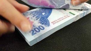 Sanjosesinos con dinero falso por el centro de Concepción del Uruguay