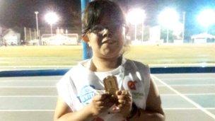 Candela Sarachago obtuvo medallas de oro en Chaco