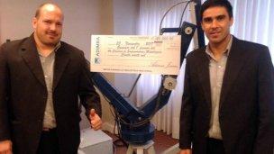 Premiaron a nivel nacional un brazo robótico fabricado por entrerrianos