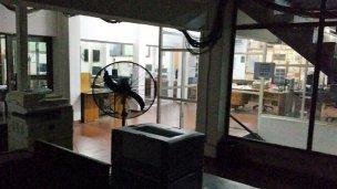 Los trabajadores de El Diario extendieron el paro hasta el lunes