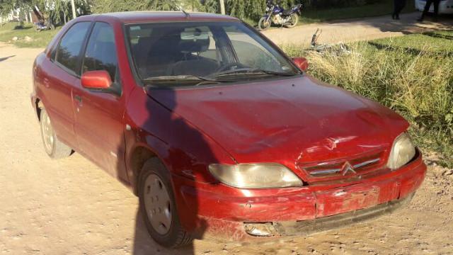 Adolescente con heridas graves tras accidente