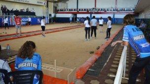 Comienza el Panamericano de Bochas femenino en club Rivadavia