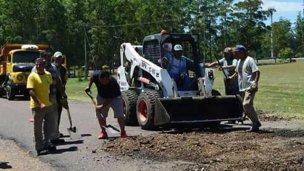 Perilago: Vialidad arregla el camino y Codesal habilitó las playas