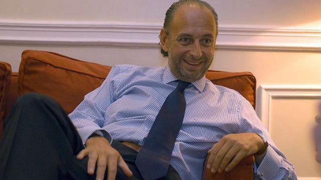 El ex ministro del Interior cerca de El Diario.