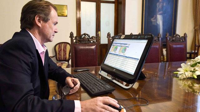 Bordet monitorea la colocación de los bonos