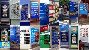 El precio de la nafta en 7 ciudades entrerrianas