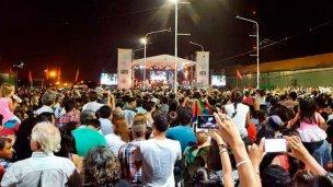 Fiesta del Citrus: las lluvias obligaron a reprogramar los espectáculos