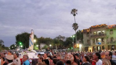 Procesión náutica y Misa Criolla, en honor a la Inmaculada