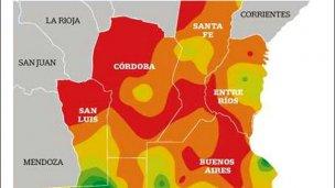 Entre Ríos, una de las más afectadas por la sequía