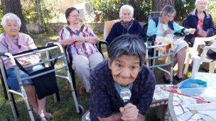 Radio y arte en el hogar de ancianos La Inmaculada