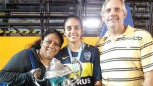 Sabrina Germanier Campeona con Boca Juniors