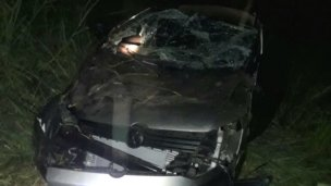 Dos niños heridos, tras un nuevo despiste en ruta entrerriana