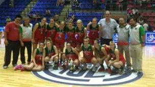 Entre Ríos, subcampeón en el Argentino de básquet femenino