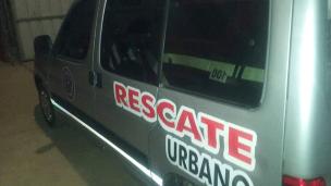 El rápido accionar de bomberos salvó una vida