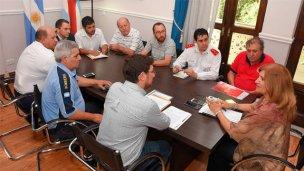"""Fue """"satisfactoria"""" la reunión entre bomberos voluntarios y gobierno"""