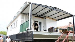 ¿Cómo será la escuela flotante que se construye en Entre Ríos?