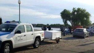 Encontraron un cuerpo en el río Gualeguaychú