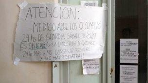 """Llevan a la Justicia el conflicto en hospital """"San Benjamín"""""""