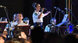 La Banda de Policía cumple el sueño de llegar a Cosquín
