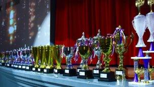 Se entregaron los trofeos de la temporada 2017 de la Liga