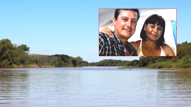 Pareja perdida en el Paraná: encontraron el cuerpo de la mujer