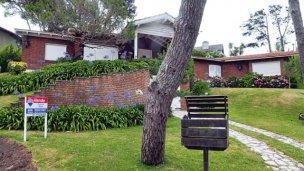 Una de las casas de Yabrán en Pinamar, a precio de remate