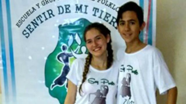 Dos representantes colonenses en Córdoba.