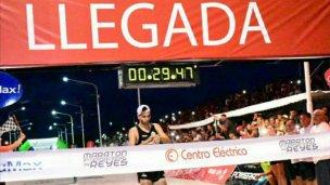 Bruno se hizo con el podio de la Maratón de Reyes
