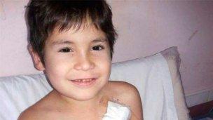 La familia de Tobías vive días difíciles y pide ayuda