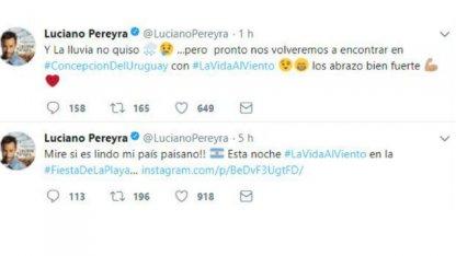 Luciano Pereyra se despidió de Concepción del Uruguay