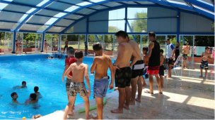 Temporada estival en el natatorio municipal