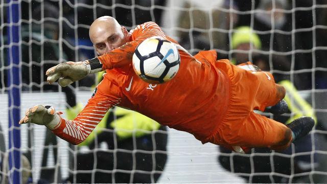 Caballero fue el héroe de Chelsea en la FA Cup