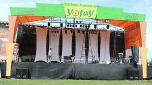 Doma y espectáculos en la Fiesta Provincial del Yatay