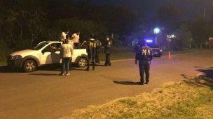 Megaoperativo en la playa: Detenidos, drogas y vehículos secuestrados