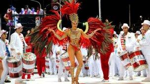 Brillo y pasión, en la primera noche del carnaval de Concordia