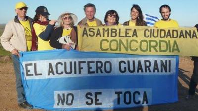 Acuífero Guaraní: enojo por la inacción del oficialismo provincial