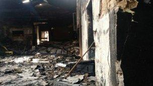 Incendio destruyó la Casa de la Cultura y ellos la quieren recuperar